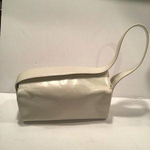 Hobo Ivory Leather Handbag